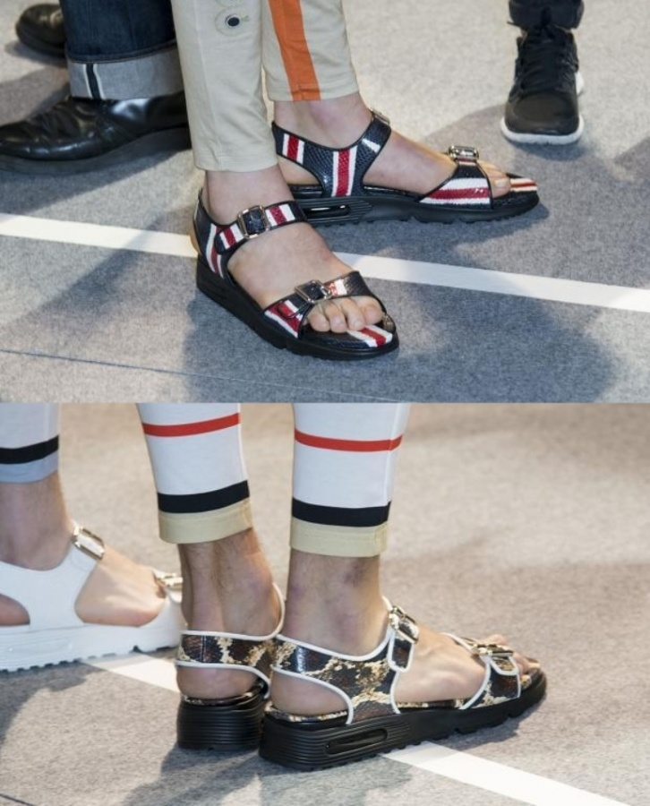 givenchy_mens_shoes_2014_spring_summer_sandals 2017 Fashion Trends for Men's Shoes