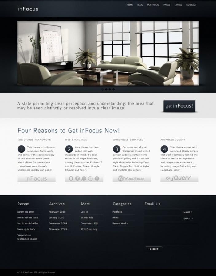 inFocus-Powerful-Professional-WordPress-Theme Top 10 ThemeForest WordPress Themes