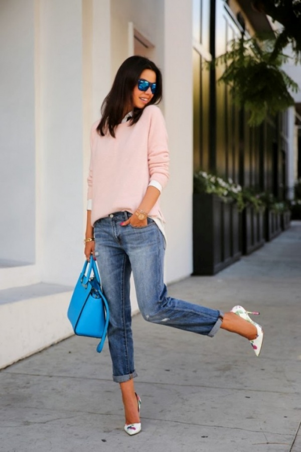 jeans-fashion-trends-in-spring-2014-2 27+ Latest & Hottest Jeans Fashion Trends Coming for 2019