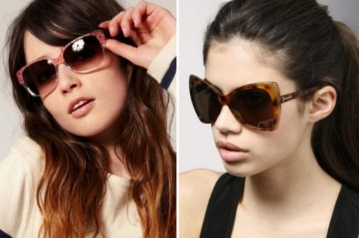 latest-trendy-fashionable-black-color-sunglasses-2013-2014 2017 Latest Hot Trends in Women's Sunglasses