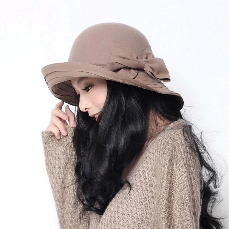 nwt-womenladies-wool-winter-hats-wide-brim-sun-sz-s-m-l-brownbeigeblack-120901u-x-2 Top 15 Hat Trend Forecast for Fall & Winter 2019