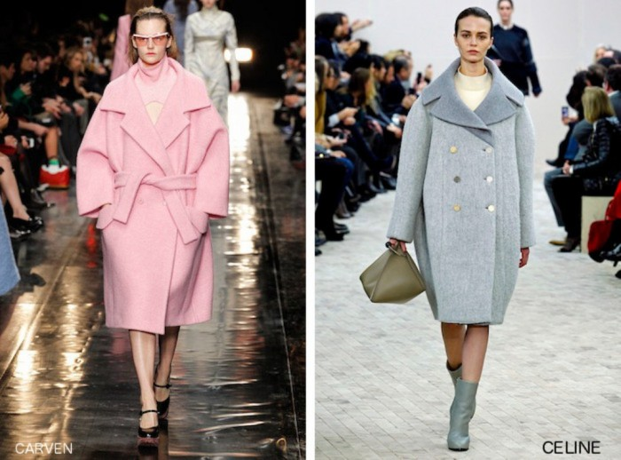 oversized-coats-carven-celine Forecast: Top 10 Fashion Trend Trending for Fall & Winter 2019