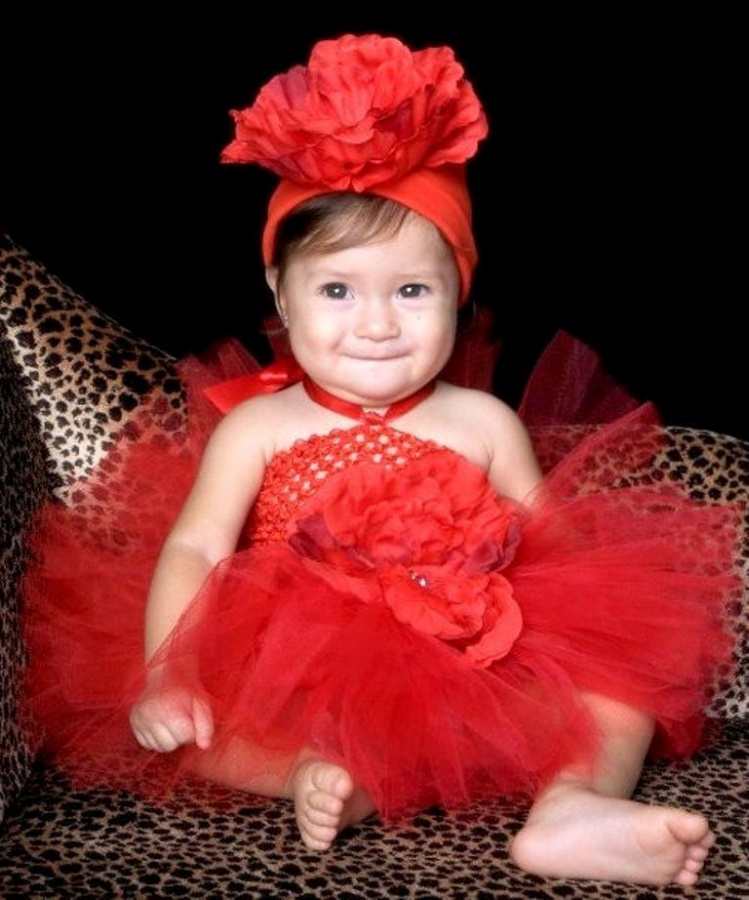 red-beauty-valentine-tutu 25 Magnificent & Dazzling Collection of Crochet Dresses for Baby Girls
