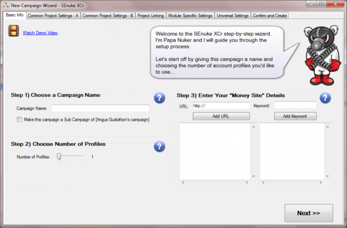 screenshot_wizard Rank #1 in Google in Just Few Days with SEnuke XCr
