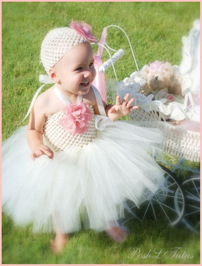 shabbyromancetutudress 25 Magnificent & Dazzling Collection of Crochet Dresses for Baby Girls