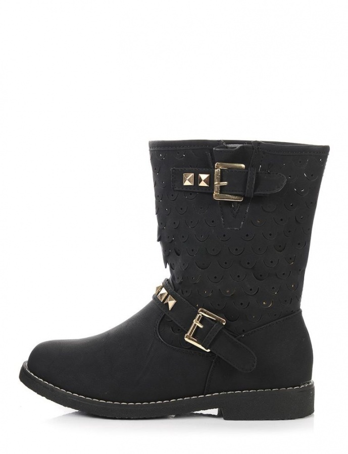 shoes-flats-highway-to-heaven-studded-moto-boots-black-shop-moddeals-1 Top 18 Shoe Trend Forecast for Fall & Winter