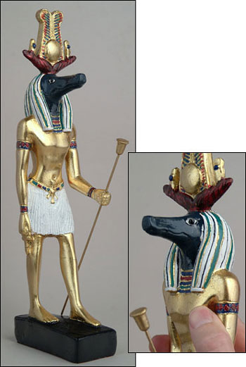 sobek 39 Most Famous Pharaohs Gold Statues