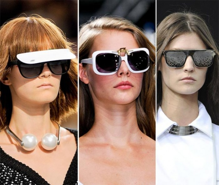 spring_summer_2014_eyewear_trends_diversified_styles_of_sunglasses1 2017 Latest Hot Trends in Women's Sunglasses