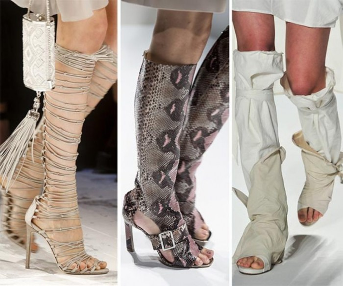 spring_summer_2014_shoe_trends_summer_knee_boots_fashionisers Top 10 Hottest Women's Boot Trends