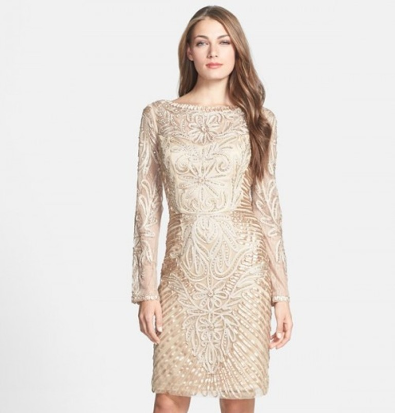 sue-wong-embellished-long-sleeve-sheath-dress-7 Forecast: Top 10 Fashion Trend Trending for Fall & Winter 2019