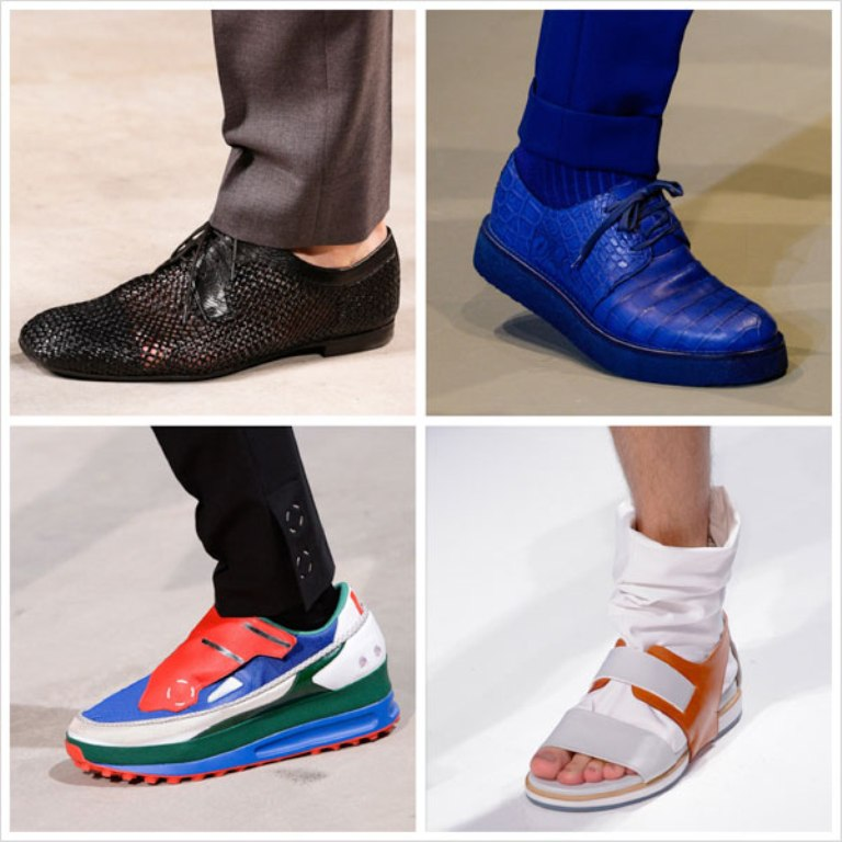summer-spring-2014-shoes-men-trend1 2017 Fashion Trends for Men's Shoes