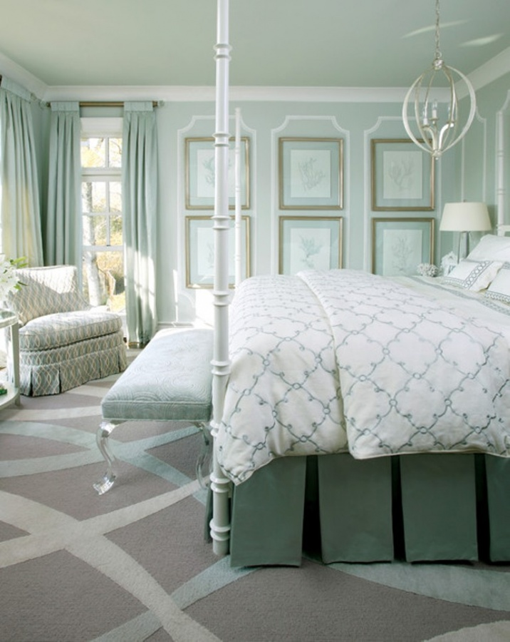 traditional-bedroom 37+ Newest Home Interior Color Trends for 2019
