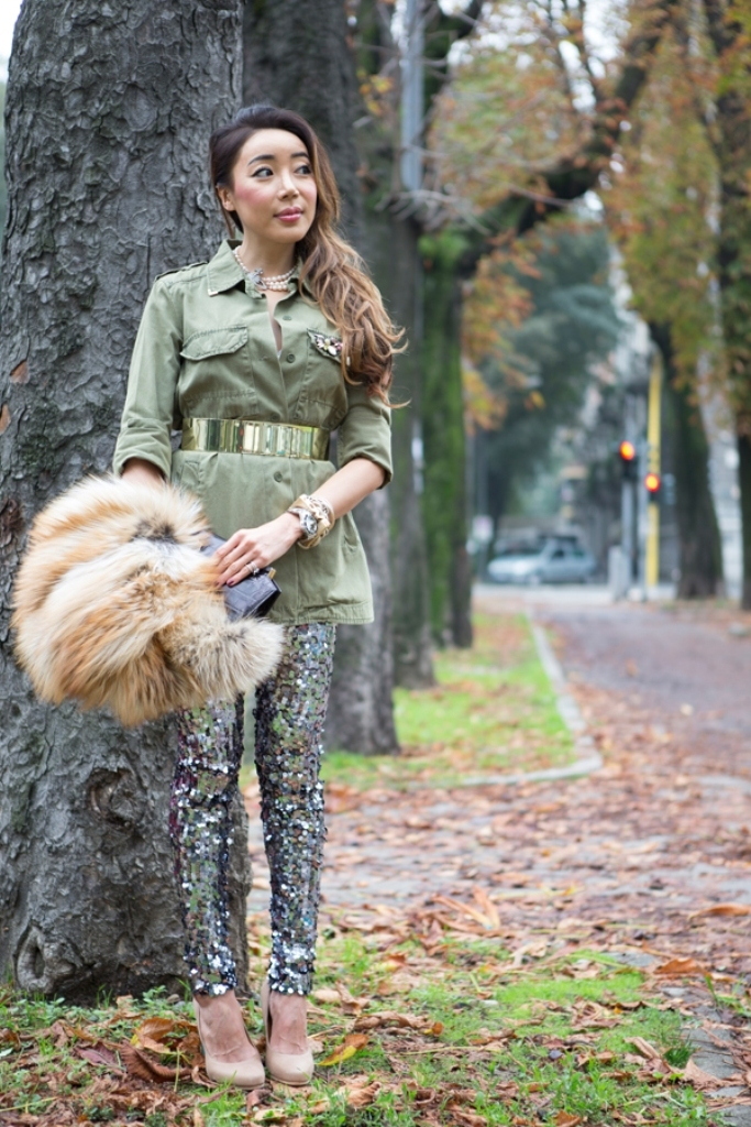 00-YuriAhn-theStylistme-shres-military-inspired-look-simply-seductive 20 Military Clothing Fashion Trends 2017 ... [UPDATED]
