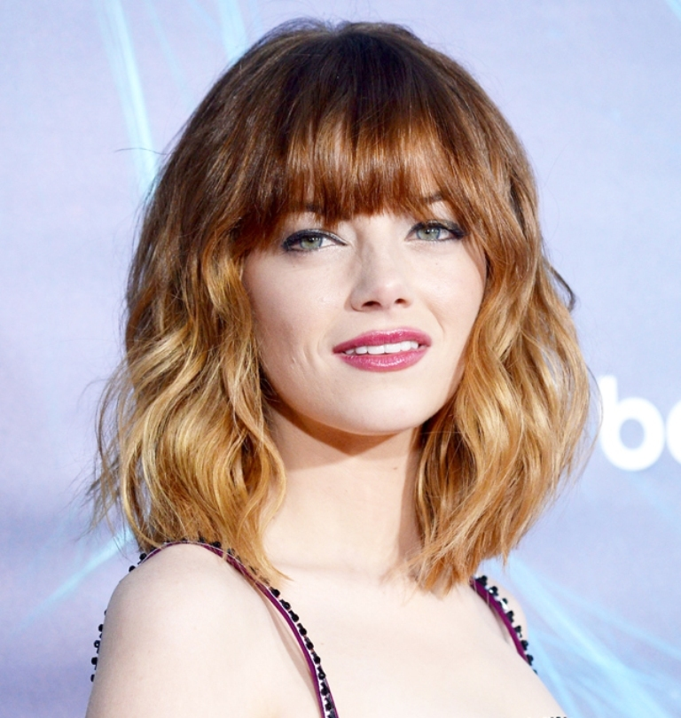 042514-emma-stone-makeup-640 Hottest 14 Celebrity Summer Hair Trends 2019