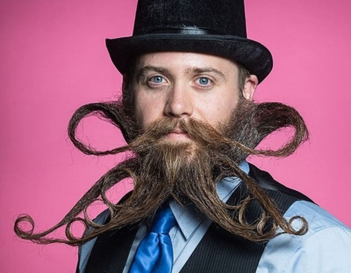 Weird Facial Hair Styles: 25 Crazy And Bizarre Beard And Moustache Styles