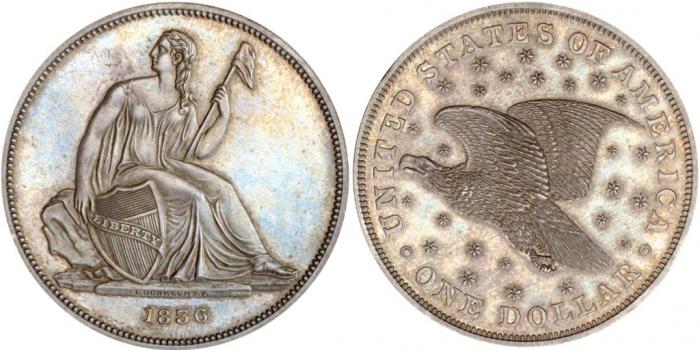 1836_Gobrecht_dollar Best American Eagle Silver Dollars