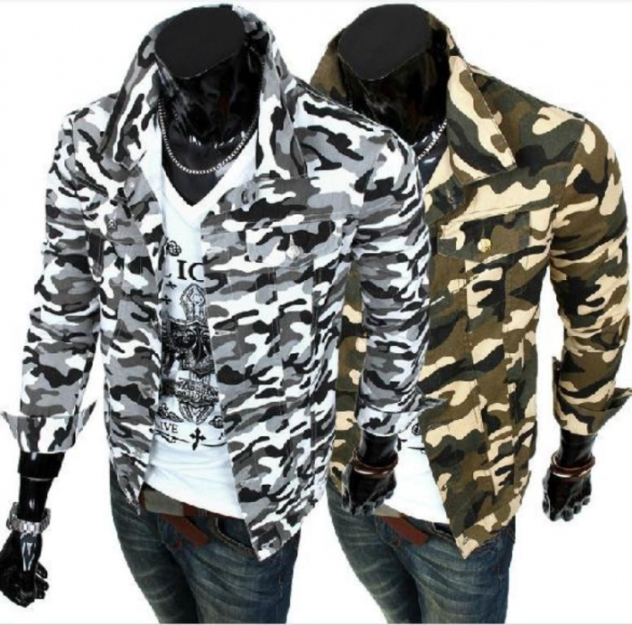 2014-New-Men-s-Casual-font-b-Jackets-b-font-Camouflage-Outwear-Male-font-b-Fashion 20+ Hottest Military Clothing Fashion Trends for 2020