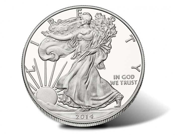 2014-W-Proof-Silver-Eagle-Obverse 2015 American Eagle Silver Dollars