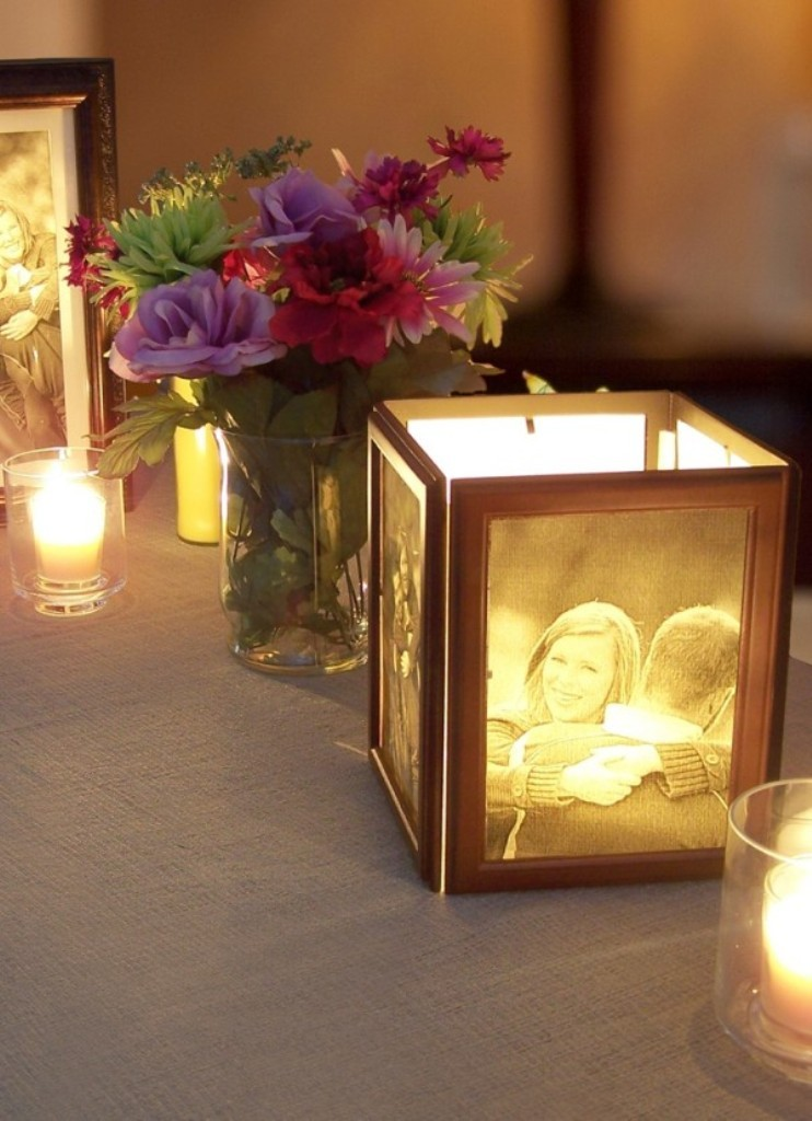 2014-beach-wedding-table-candle-decorations-how-to-make-photo-centerpieces-with-candle-f56237 25+ Breathtaking Wedding Centerpieces Trending For 2019