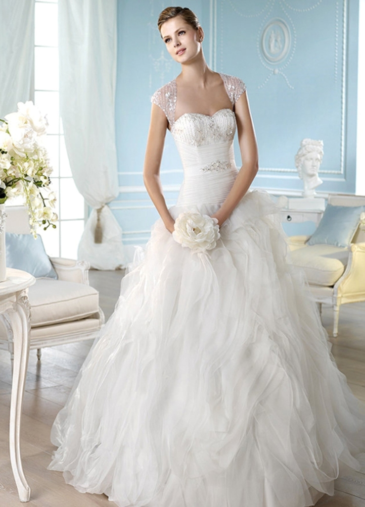 2014-wedding-dresses-by-ST.-Patrick-Bridal-fashion-collection-HANSI_B- Top 10 Modern Color Trends for Weddings Planned in 2020
