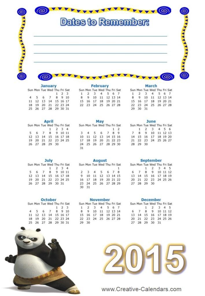 2015calendar Best 15 Printable Calendar Templates