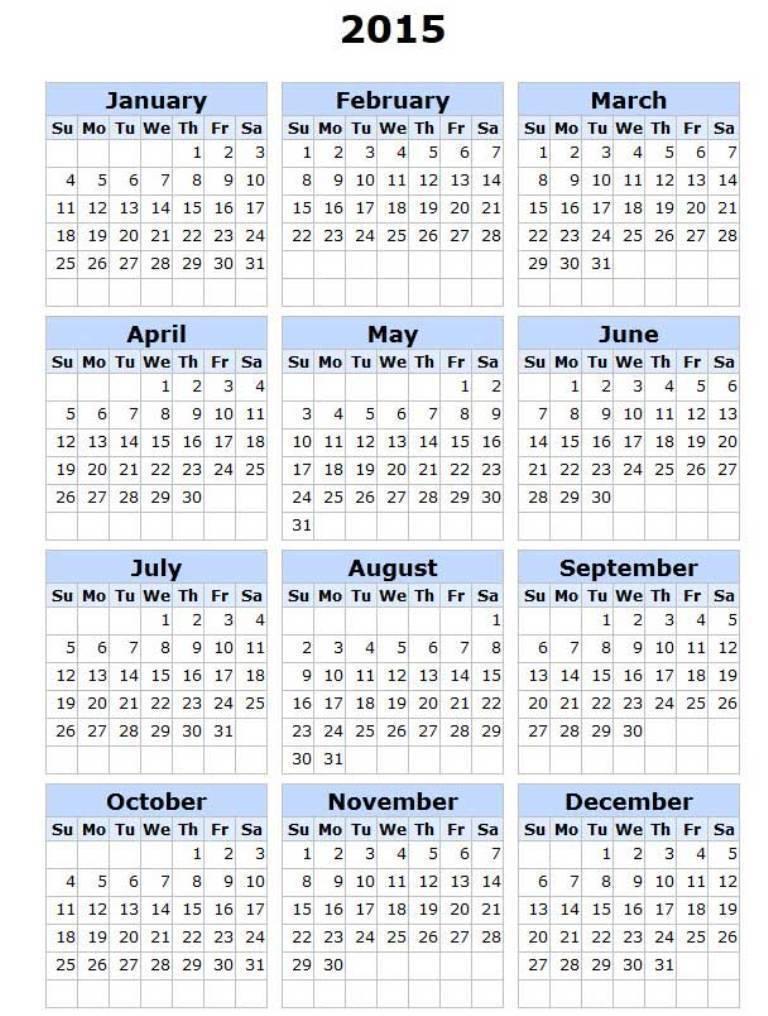 2015calendarwithholidays Top 15 Holiday Calendar Designs [EXCLUSIVE] ...