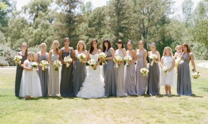 50-shades-of-grey-wedding-ideas-10 Top 10 Modern Color Trends for Weddings Planned in 2020
