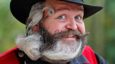 Photo of 25 Crazy and Bizarre Beard and Moustache Styles