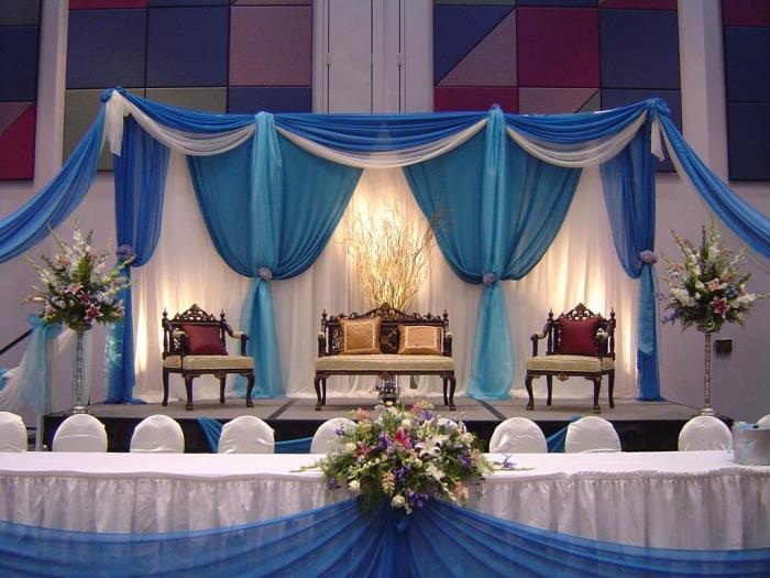 Beautiful-Indoor-Wedding-Decorations 25+ Breathtaking Wedding Decoration Ideas in 2020