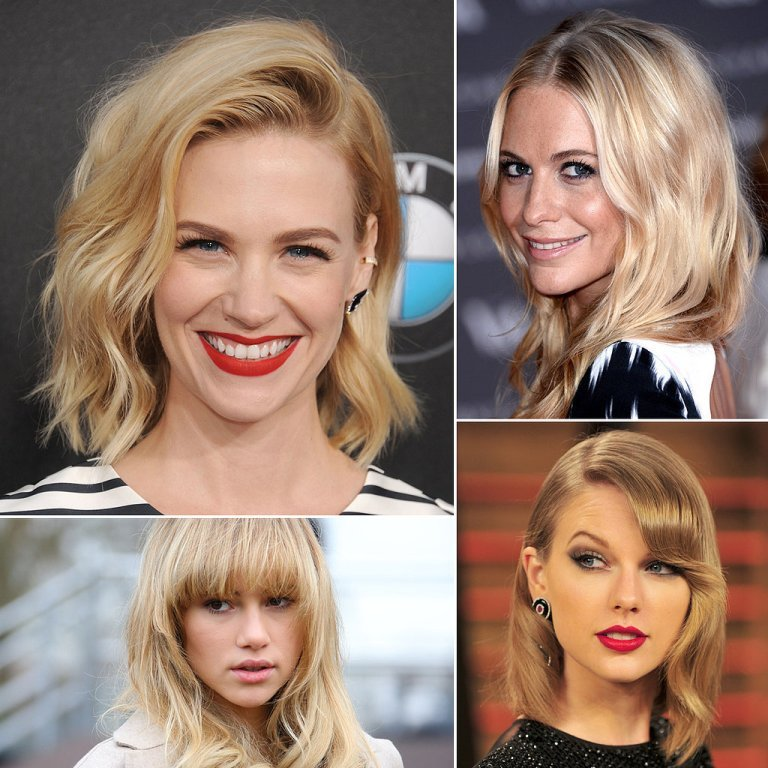 Best-Blonde-Hairstyles-Spring-2014 Hottest 14 Celebrity Summer Hair Trends 2019