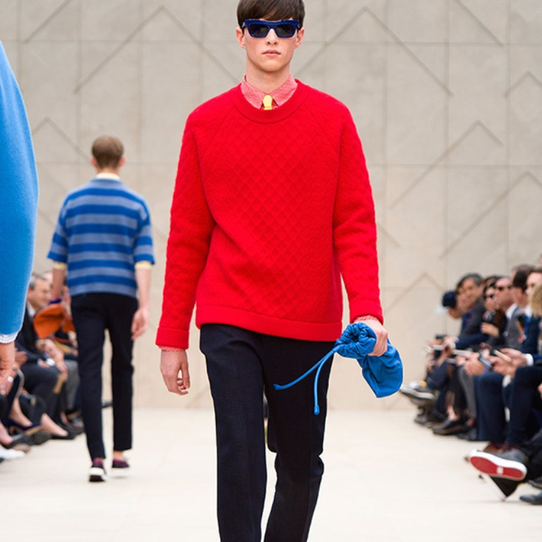 Burberry-Prorsum-Menswear-Spring-Summer-2014-thb1 2017 Men's Color Trends ... [UPDATED]