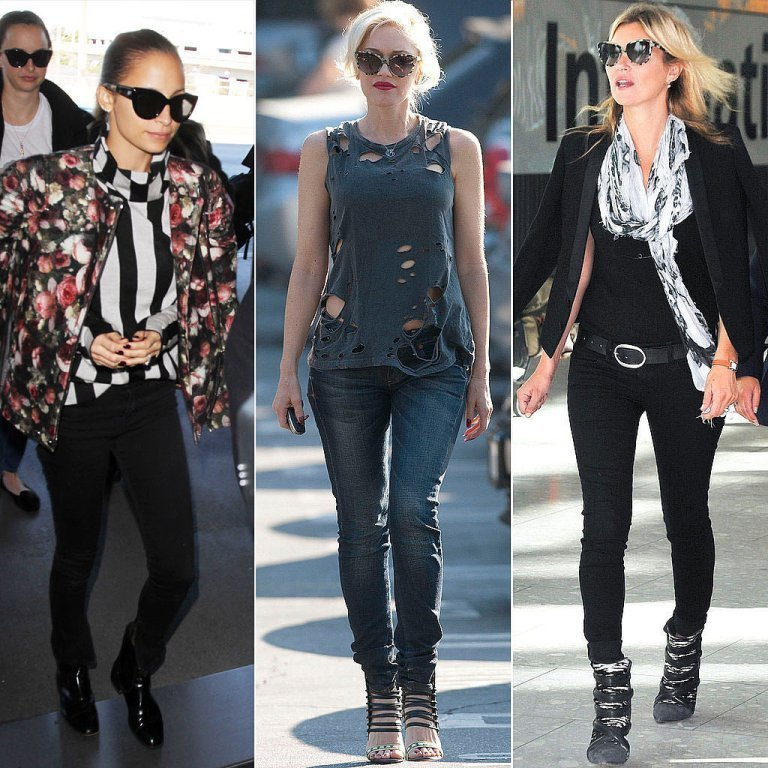 Celebrities-Wearing-Cat-Eye-Sunglasses Top 10 Celebrity Casual Fashion Trends for 2019