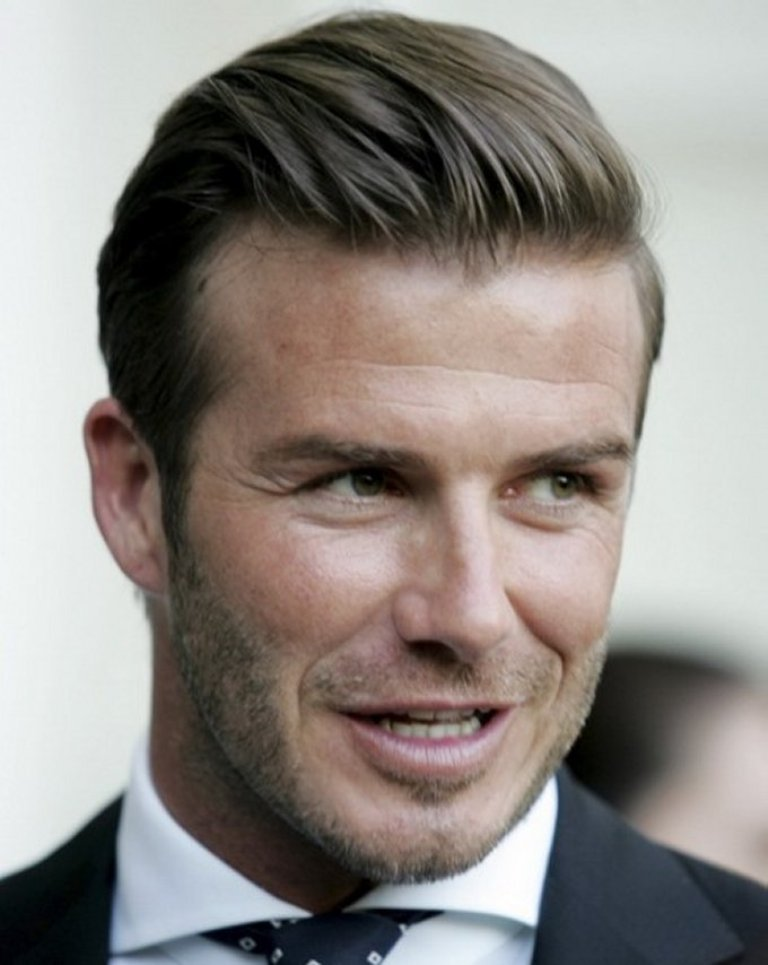 Classic-Hairstyles-D-Beckham 2017 Latest Men's Hair Trends for Spring & Summer