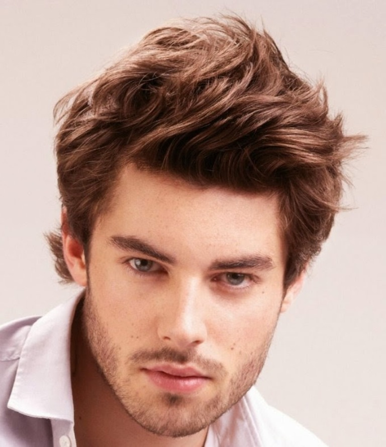 Cool-Hairstyle-Trends-for-Men-2014-Medium-hair 2017 Latest Men's Hair Trends for Spring & Summer