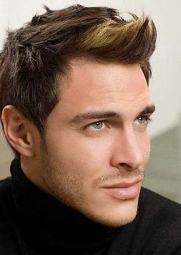 Cool-Hairstyle-Trends-for-Men-2014-Spike 2017 Latest Men's Hair Trends for Spring & Summer