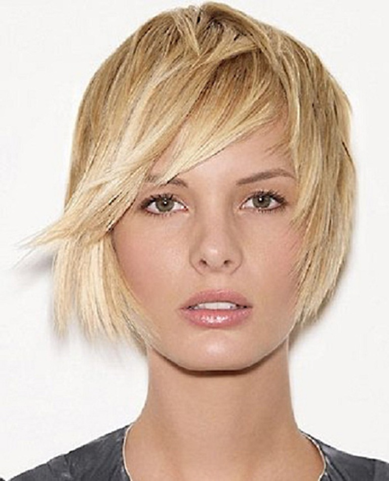 Cool-Short-Hairstyles-for-Round-Faces-and-Thin-Hair-2014 25+ Short Hair Trends for Round Faces Chosen for 2019
