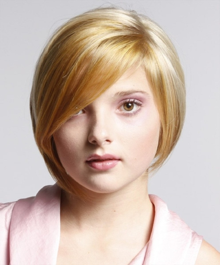 Cute-Short-Haircuts-for-Round-Faces-2013-853x1024 25+ Short Hair Trends for Round Faces Chosen for 2020