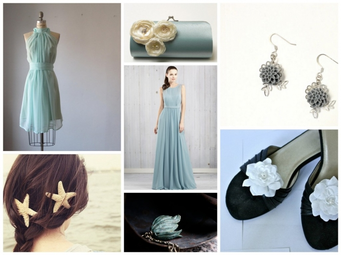 Dusty-Aqua-Wedding Top 10 Modern Color Trends for Weddings Planned in 2020
