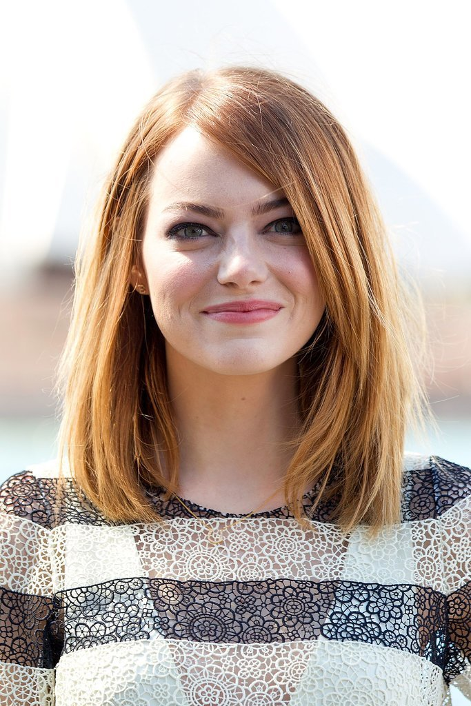 Emma-Stone Hottest 14 Celebrity Summer Hair Trends 2019