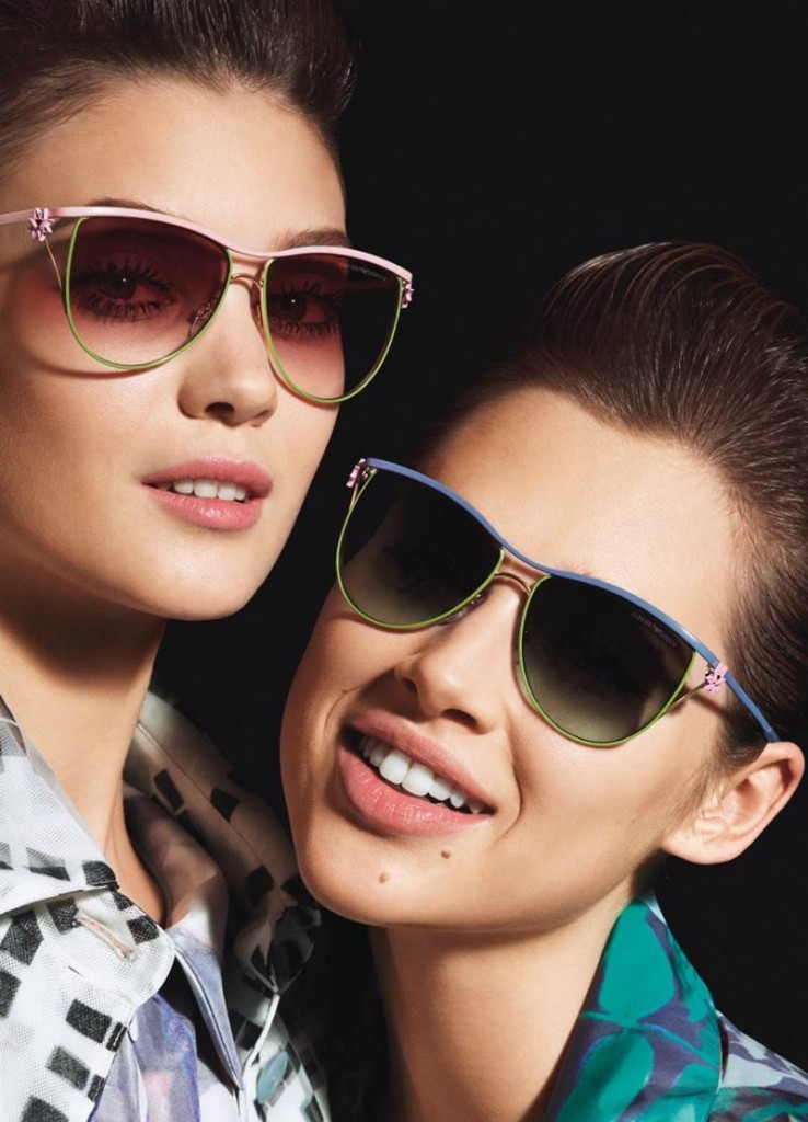 Emporio-Armani-Eyewear-2014-Campaign-2-738x1024 Latest 15 Spring and Summer Accessories Fashion Trends