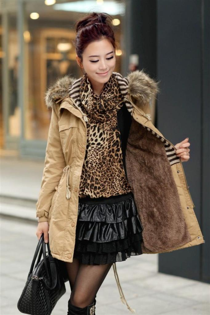 Fall-2014-Women-Designer-Fashion-Women-Thicken-Fleece-Outerwear-Coats-Warm-Faux-Fur-Winter-Coat-Zip Top 20 Jacket & Coat Trends for Fall & Winter 2019