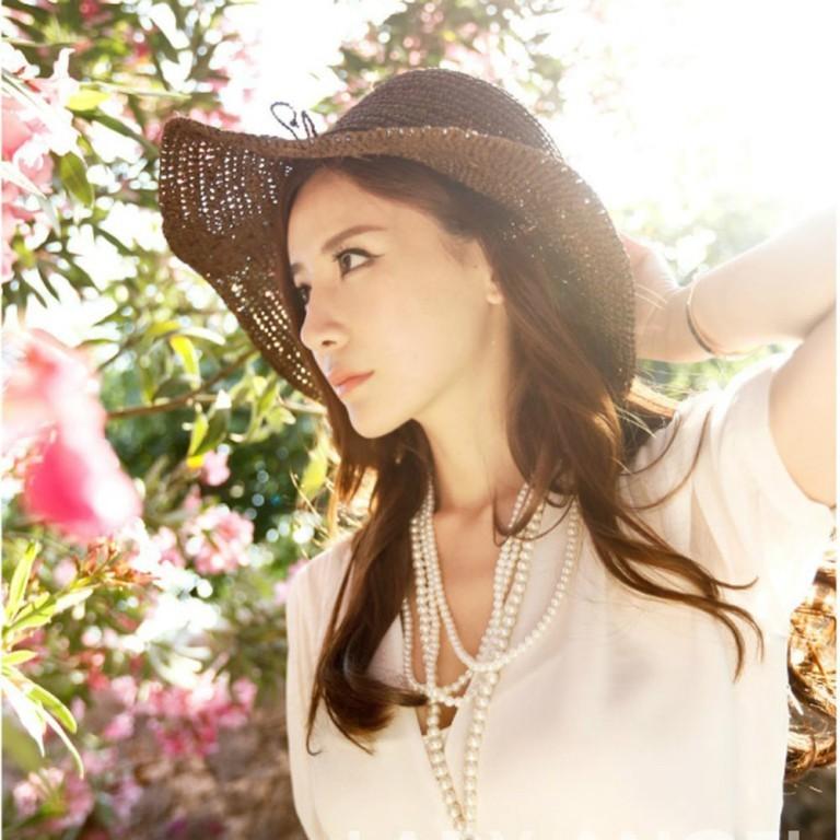 Fashion-Woman-Summer-Straw-Sun-Visor-Wide-Large-Brim-Floppy-Fold-Summer-Swimming-Beach-Hat-Straw 10 Hottest Women's Hat Trends for Summer