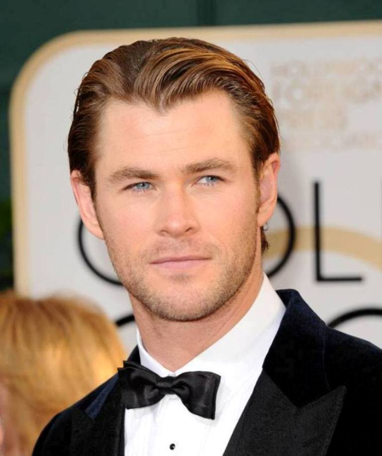 Golden-Globes-2014-Best-Hairstyles-looks-for-Boys-8 15+ Stylish Celebrity Beard Styles for 2020
