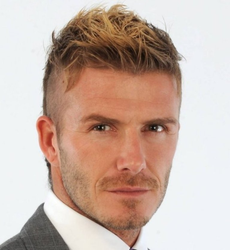 Good-David-Beckham-Haircut-For-Men-2014 Latest 20+ Men's Hair Trends Coming for Spring & Summer 2019