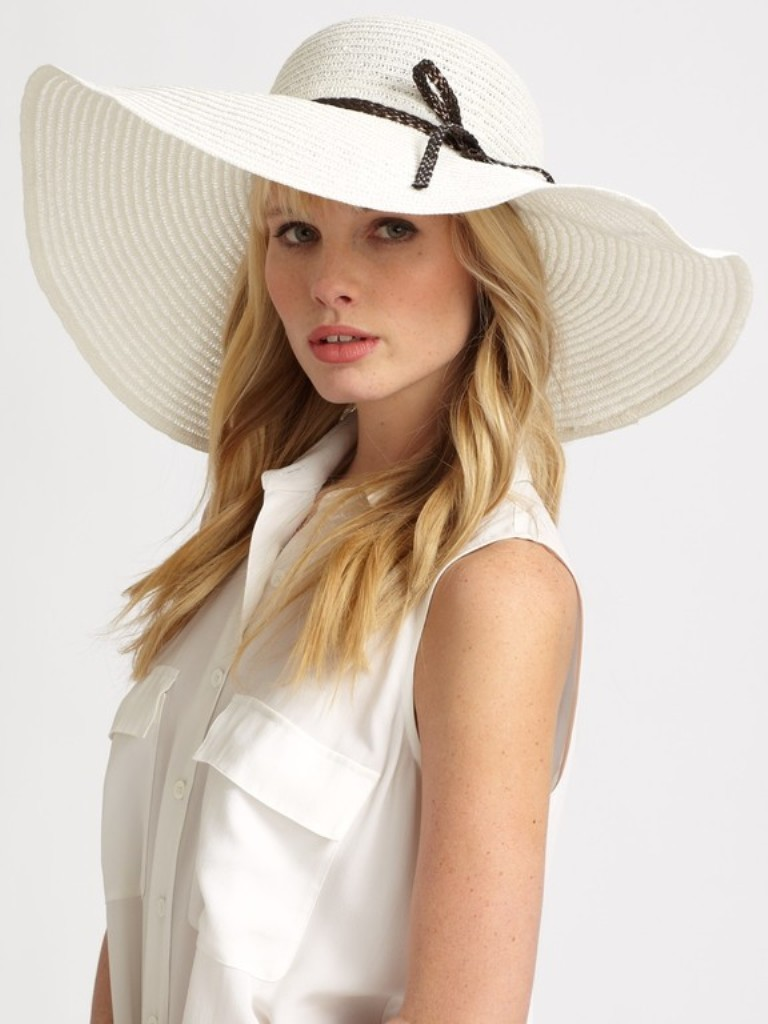 HELENE-BERMAN-Faux-Leathertrimmed-Floppy-Hat Top 20 Fashion Trends that Men Hate