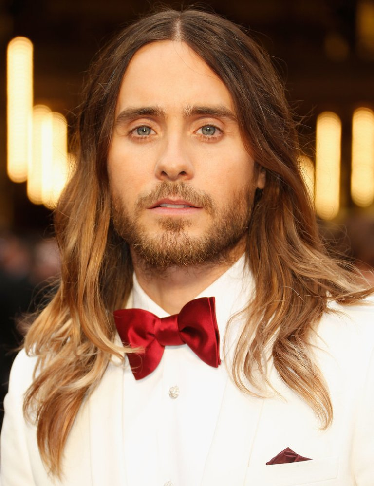 How-get-Jared-Leto-Hair-From-2014-Oscars 20+ Best Chosen Men's Hair Color Trends for 2019
