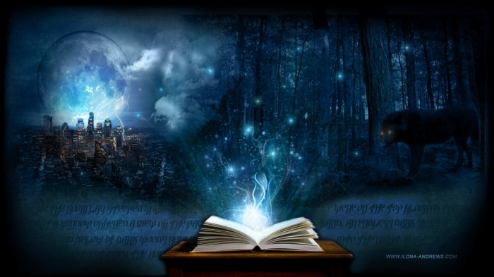 Magic-Book-Wallpaper Magic: A Girl Got Invisible, and How You Can!