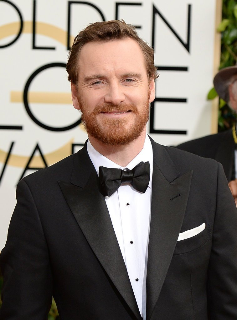 Michael-Fassbender-Golden-Globe-Awards-2014 15+ Stylish Celebrity Beard Styles for 2020