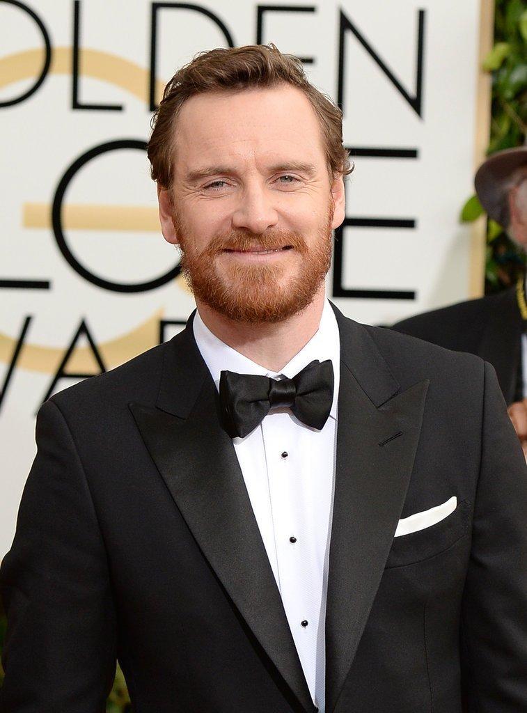 Michael-Fassbender-Golden-Globe-Awards-2014 Best Chosen 15 Celebrity Beard Styles for 2019