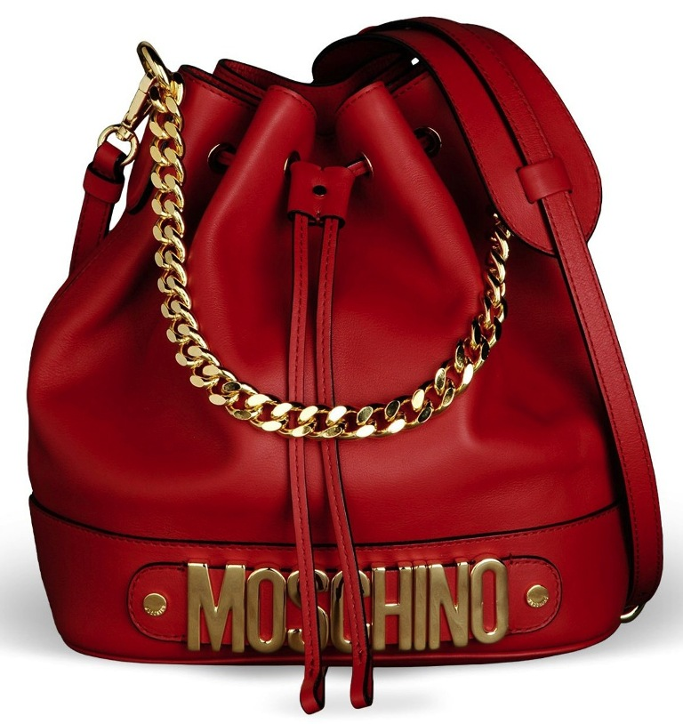 Moschino-Bucket-Bag Latest 15 Spring and Summer Accessories Fashion Trends